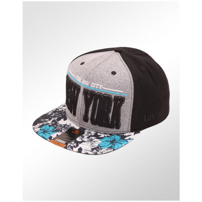 Boné Lords Snapback Aba Reta The Big City New York 1