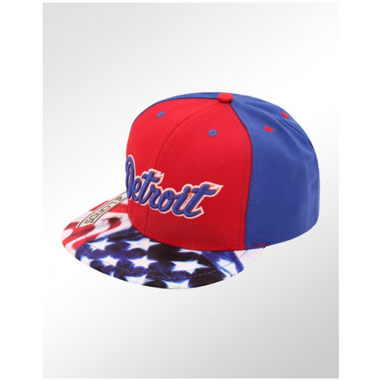 Boné Lords Snapback Aba Reta Top Cities Detroit 1
