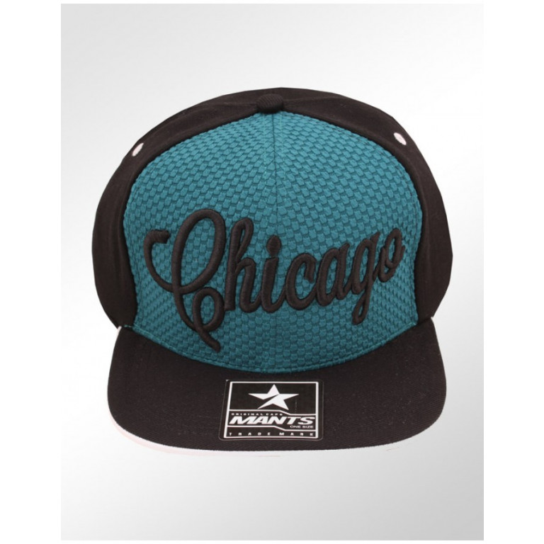 Boné Snapback Aba Reta Mants Chicago