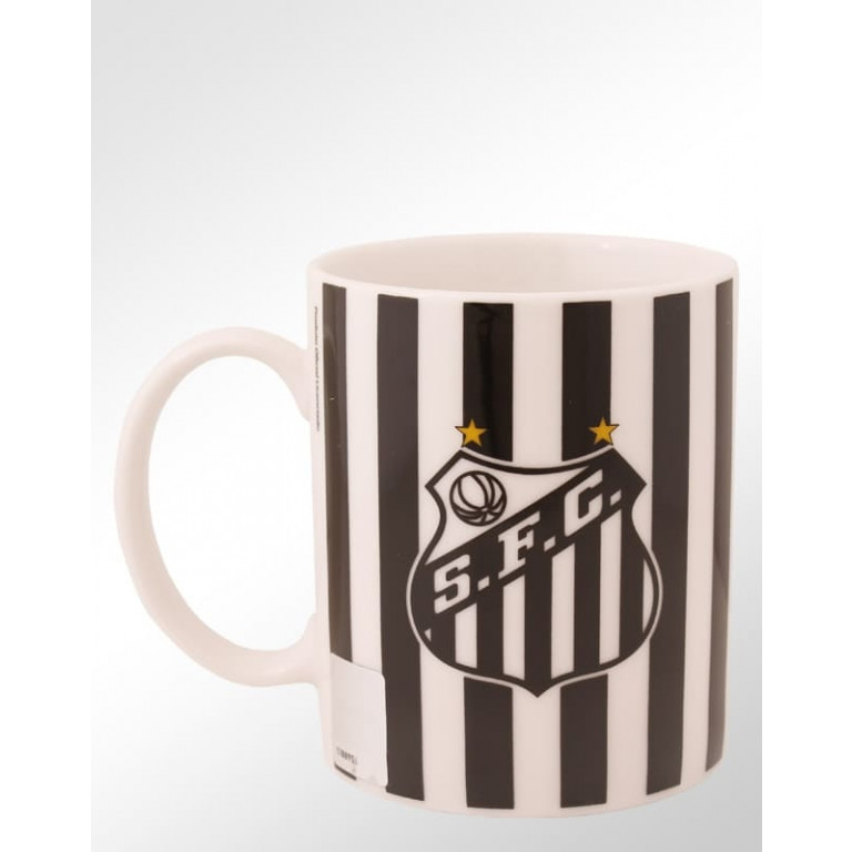 Caneca de Porcelana do Santos 370 ml