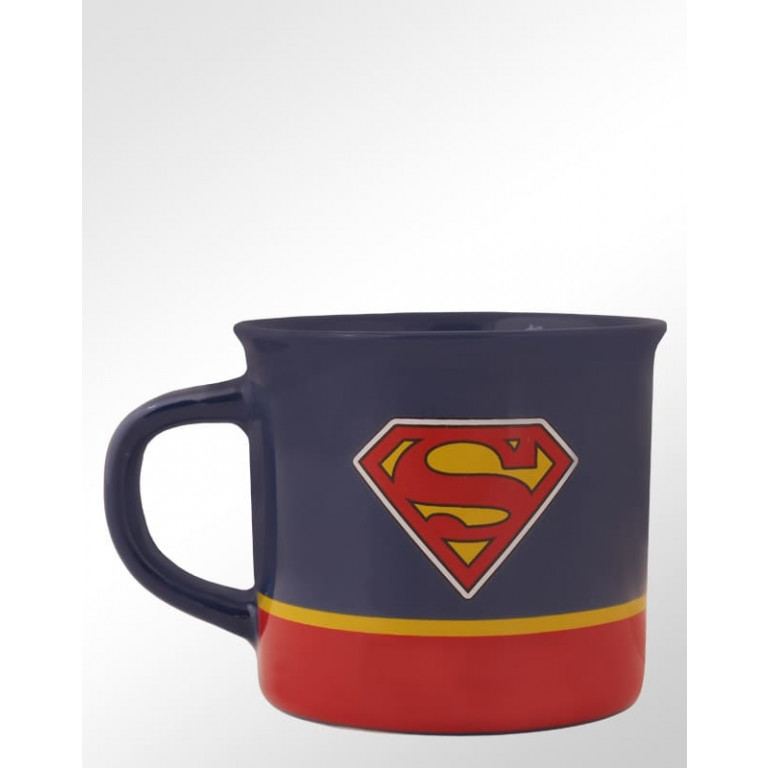 Caneca de Porcelana Superman 9 cm