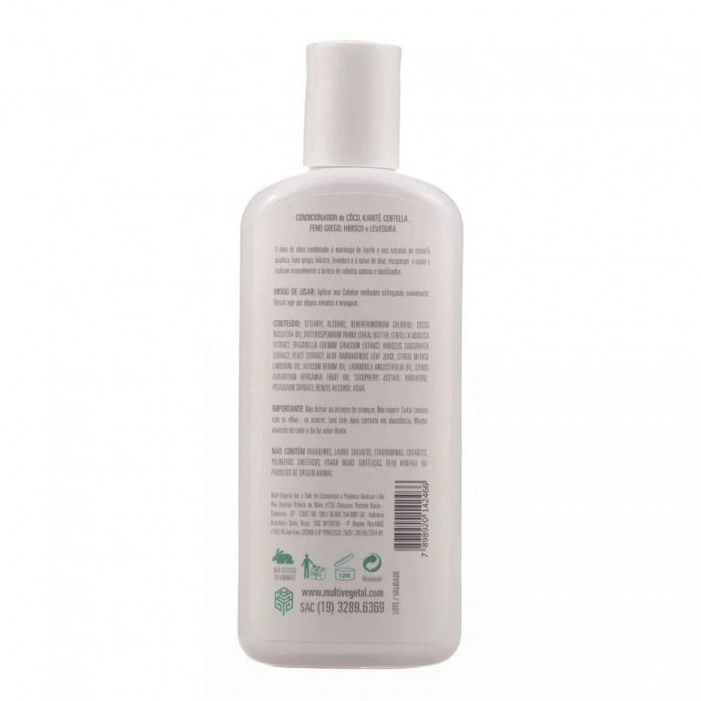 Condicionador Natural Multi Vegetal Coco 240ml