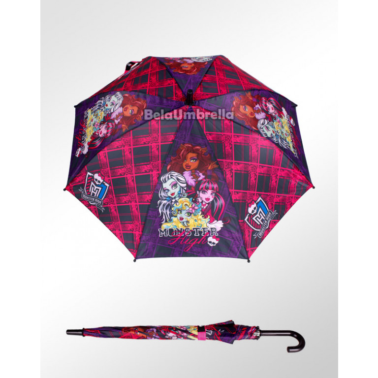 Guarda Chuva Sombrinha Infantil Disney Monster High