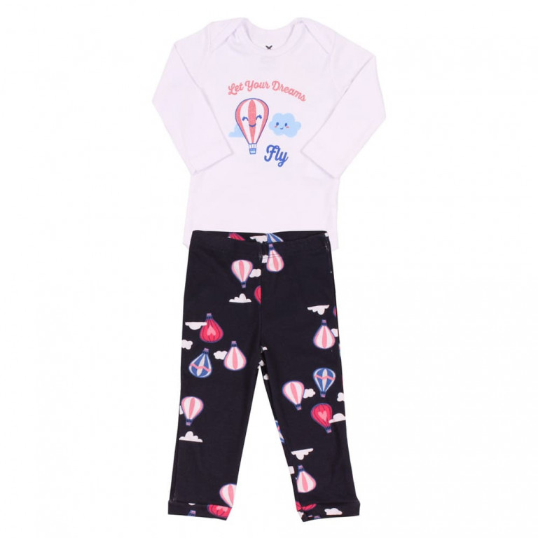 Pijama Bebê Hering Kids Let Your Dreams Fly 1
