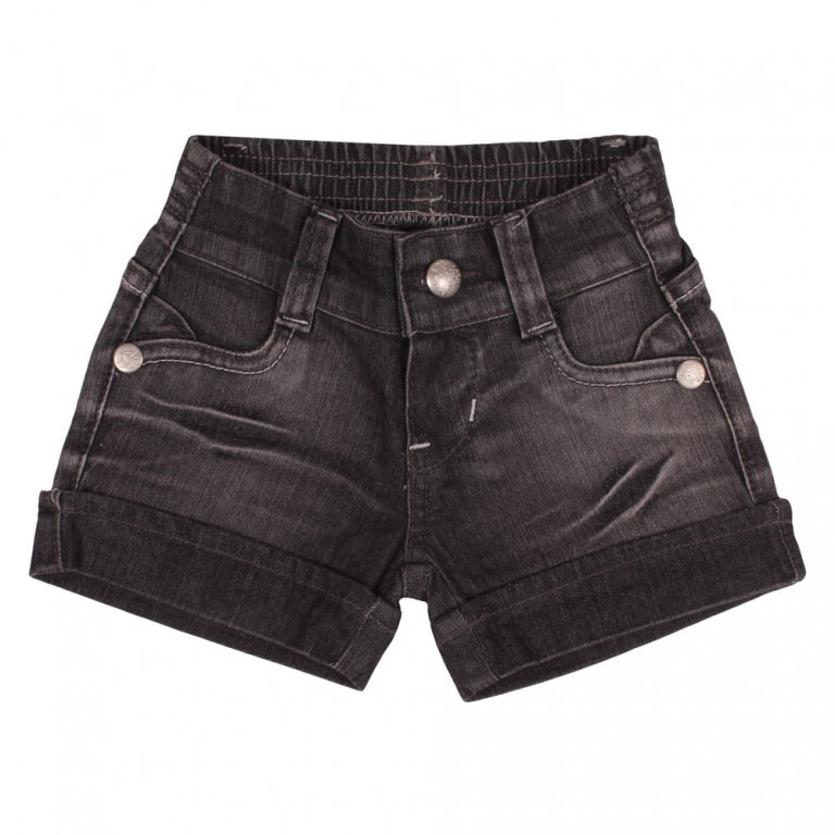 Shorts Bebê Mell Four Jeans Escuro (123)