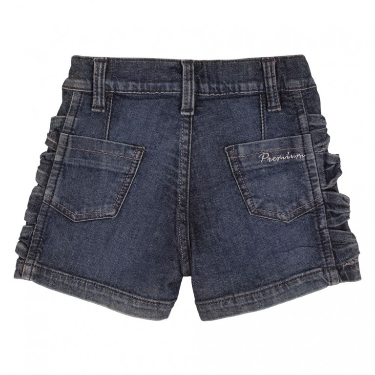 Shorts Bebê Mell Four Jeans Strass (1/2/3)